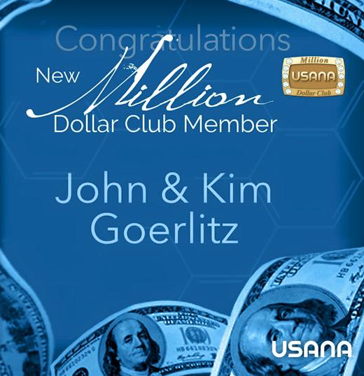 USANA Million Dollar Club